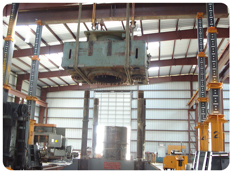 Heavy Equipment Rigging - Able Machinery Movers