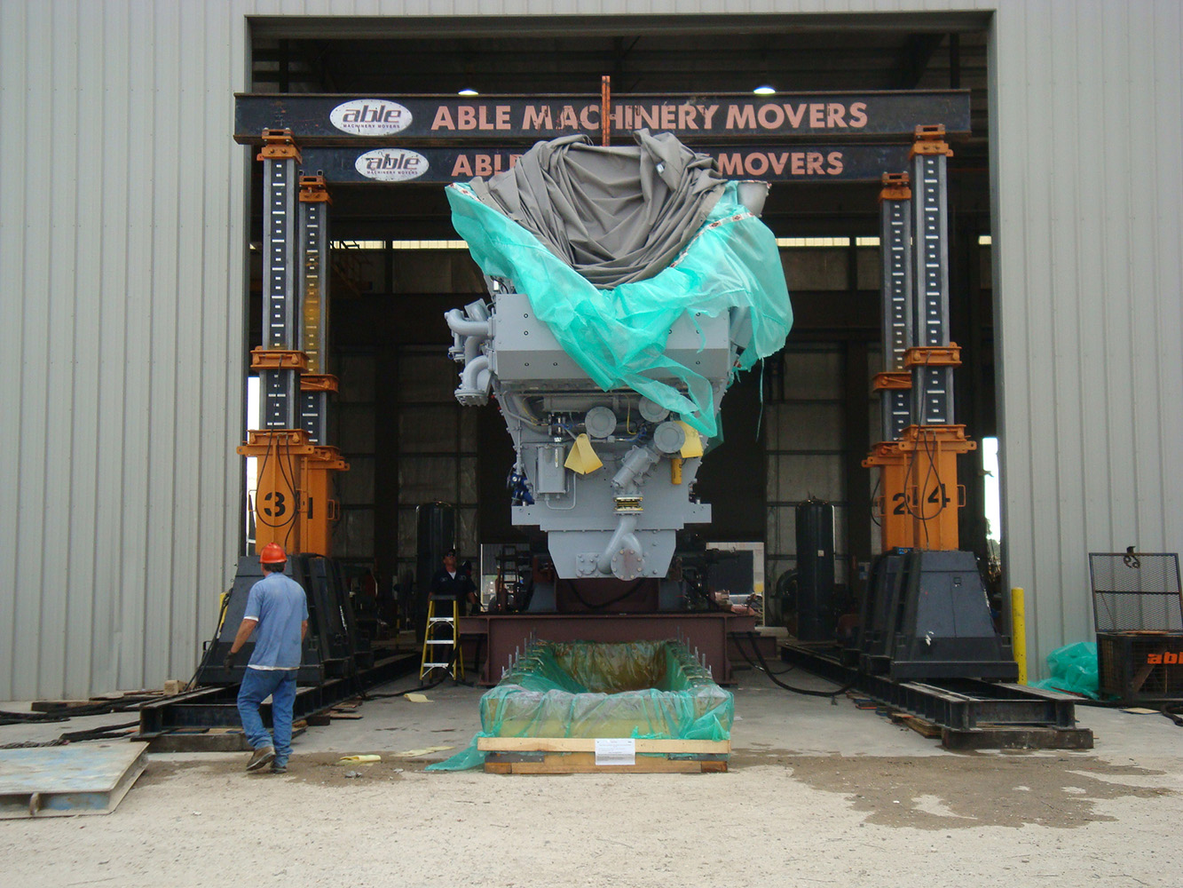 Rigging Services - Able Machinery Movers